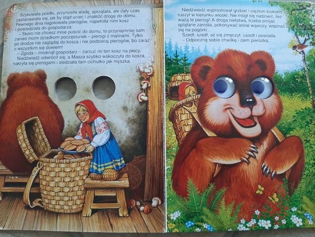 Książka Masza i Niedźwiedź