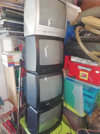 Televisões pequenas