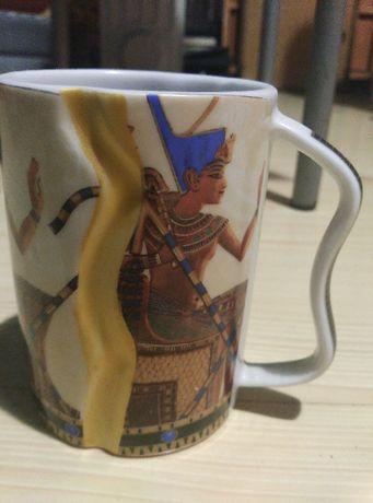 Kubek Egipski Porcelana .