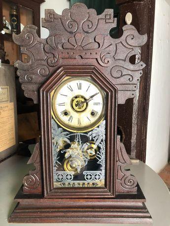 Relógio Antigo de Pêndulo (Reguladora)