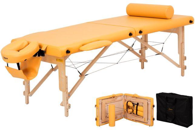 Składany stół do masażu Premium ŁÓŻKO +TORBA i akcesoria