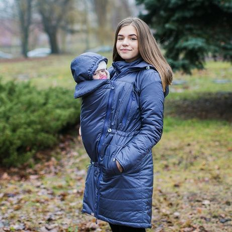 Зимняя слингокуртка 3 в 1 Love&Care! Куртка для беременных, вагітних!