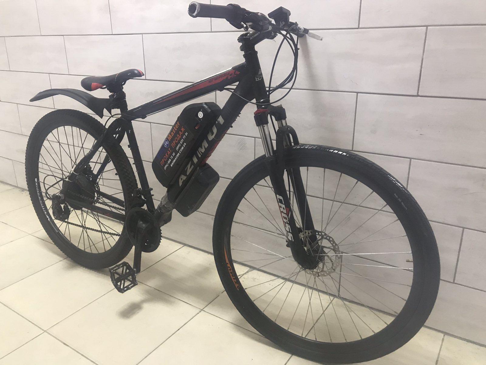 Электровелосипед 80км на одном заряде 500Вт, 15Ач, 48В