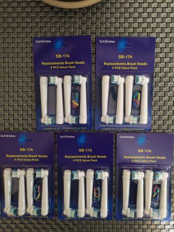 Насадки для электрических зубных щеток Oral-B