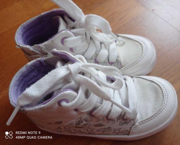 Dziewczęce sneakersy firmy Geox rozm 25