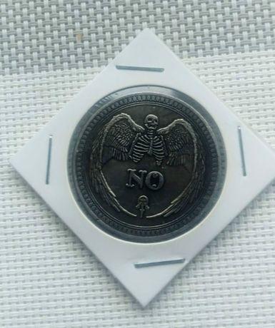 Сувенирная монета ДА\НЕТ yes\no Подбрось монетку