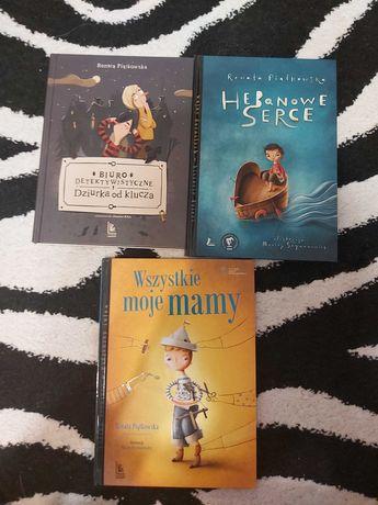 3 ksiązki Renaty Piątkowskiej