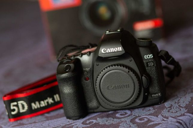 Aparat EOS Canon 5D Mark II - Kompletny zestaw, świetny stan!