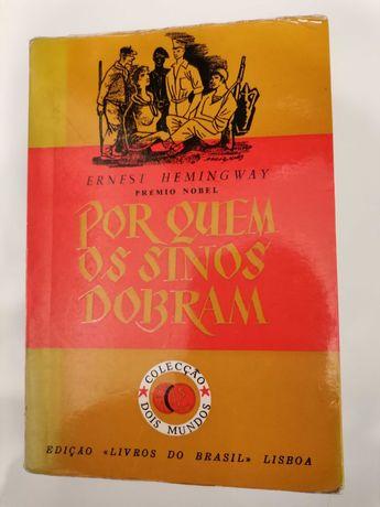 """Livro """" Por Quem os Sinos Dobram"""" , de Ernest Hemingway"""