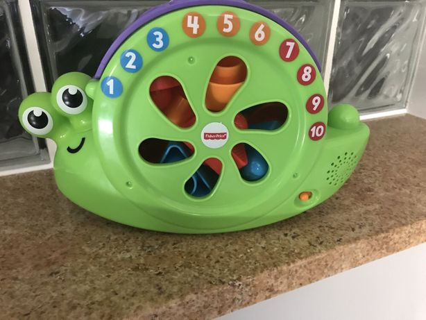 Ślimak sorter fisher-price