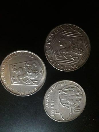 Монеты Чехословакии серебряные по 1,5 т.руб. за 1 шт. БЕЗ ТОРГА И...