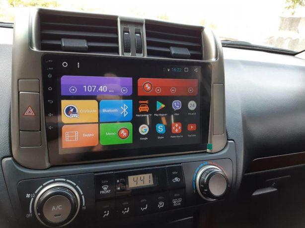 Штатная магнитола Toyota Prado 150 на Android 10! 4/32G + Подарок
