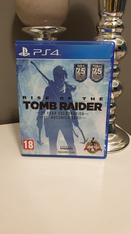 Rise of the Tomb Raider gra na konsolę PS4
