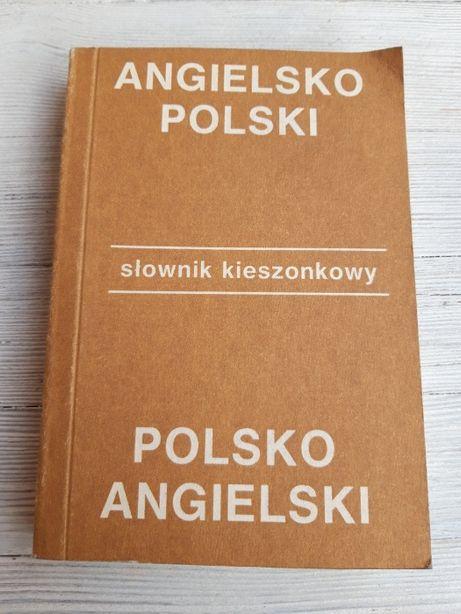 Angielsko Polski Polsko Angielski Słownik Kieszonkowy 1990