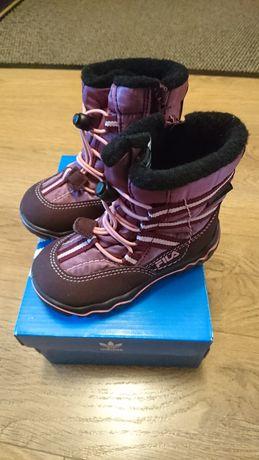 Buty zimowe Fils rozmiar 22 dlugosc wkładki 14 cm