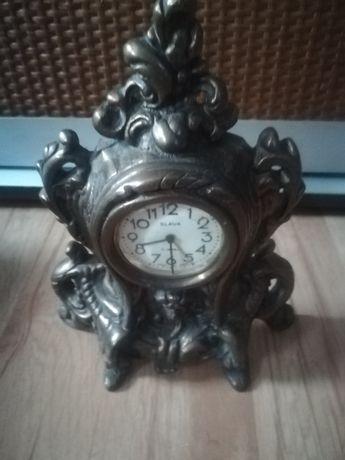 Zegar mosiężny nakręcany