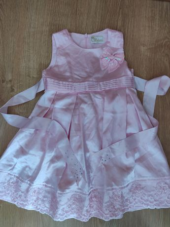 Ніжно рожеве плаття на 104 см