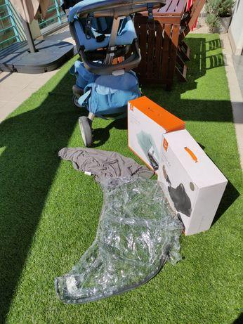 Carrinho de bebê Stokke V3 com kit de inverno e de verão