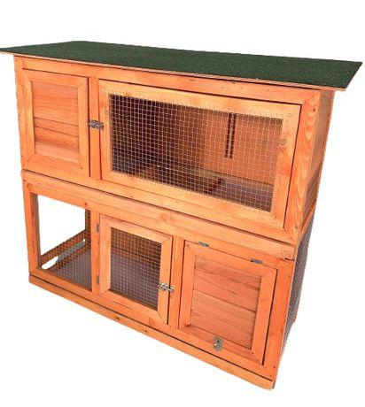 KLATKA drewniana dla królików