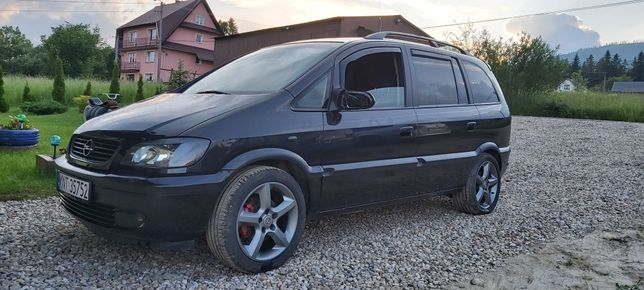 Opel Zafira A 1.8 16V 140km, 7os., Hak
