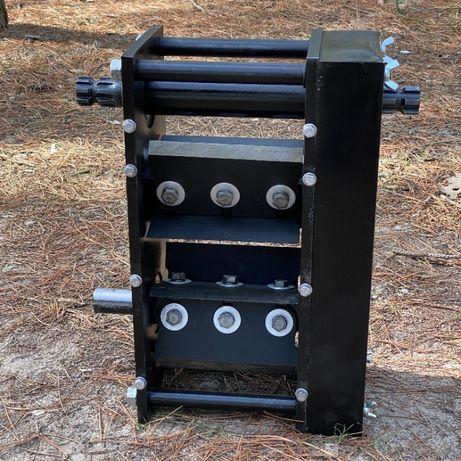 Режущий модуль DD80-100 Измельчитель Дробилка веток (ножи сталь 65Г)