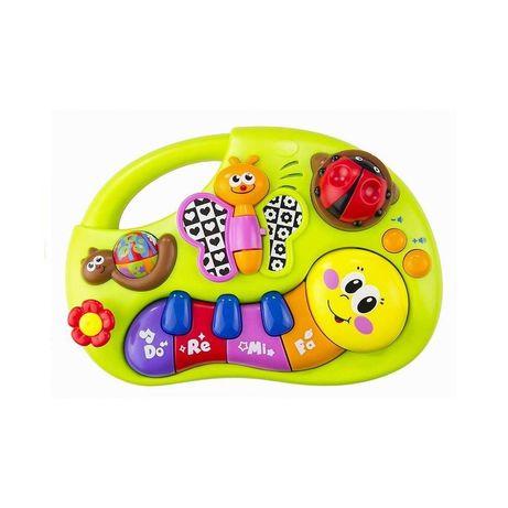 MUZYCZNE PIANINKO DLA MALUSZKA organki keyboard zabawki dla niemowląt