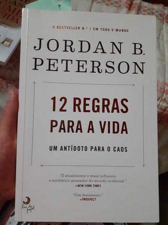 "Livro ""12 regras para a vida"" Jordan B. Peterson"