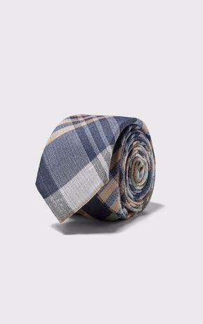 Wąski żakardowy krawat ZARA nowy z metkami