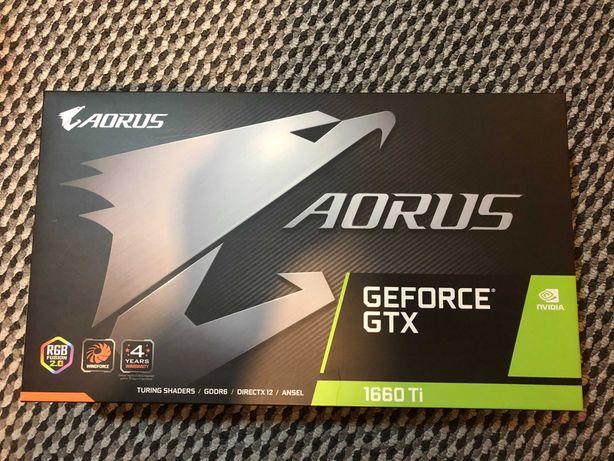 Karta graficzna Gigabyte AORUS GTX Geforce 1660Ti  6GB
