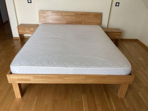 Łóżko drewniane bukowe 160x200