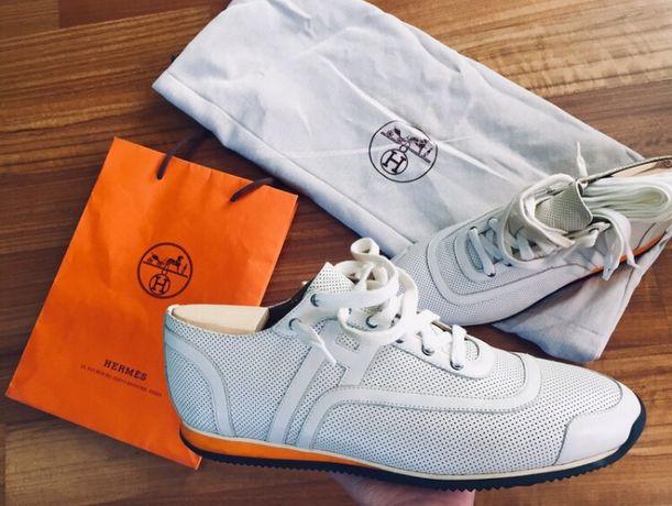 Hermes orygialne sneakersy 42
