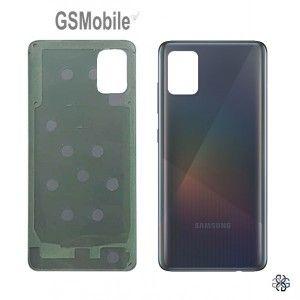 Tampa Traseira Samsung A51 Galaxy A515F Preto Azul Branco GSMobile.pt