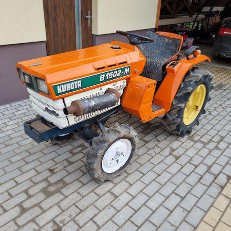 Mini traktor KUBOTA B-1502 4x4 blokada (YANMAR ISEKI URSUS C330 C335)