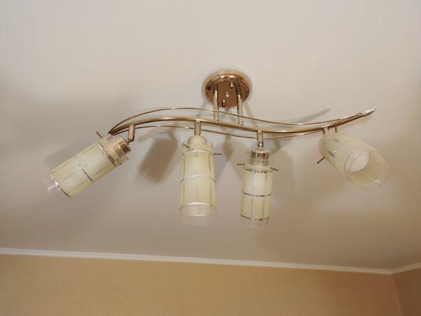 Комплект люстра и бра, (светильник) настенная