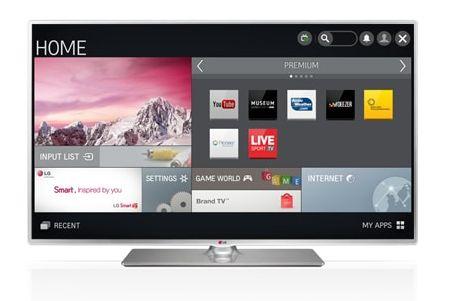 """Televisão 55"""" da LG - Display partido"""