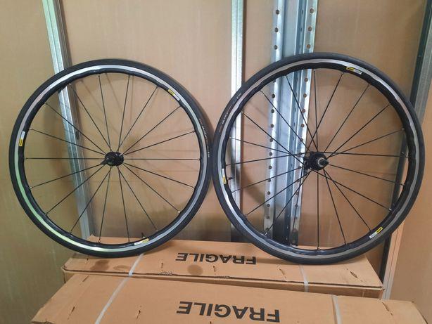Rodas mavic ksyrium  elite com pneus semi novos