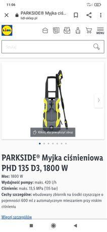 Myjka ciśnieniowa Parkside