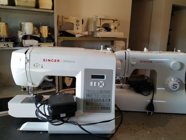 Reparação de máquinas costura Singer e outras.