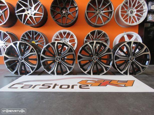 Jantes Look Peugeot 17 x 7 et 46 5x108 Pretas + Polidas