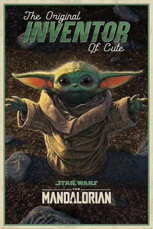Plakat Star Wars: The Mandalorian - The Original Inventor of Cute A1