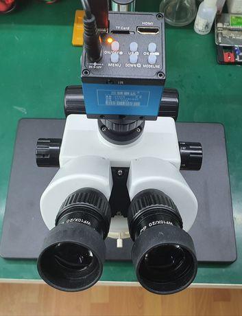 Microscópio digital para eletrônica