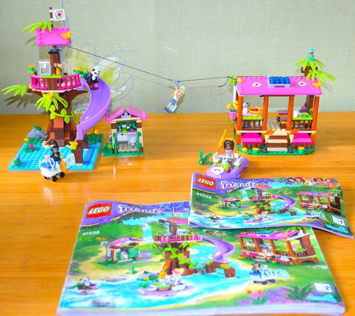 Конструктор Лего Lego Friends - Спасательная база в джунглях, 41038