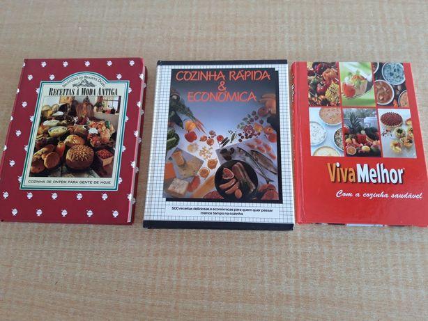 3 livros culinária