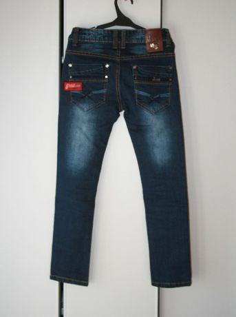 Spodnie JEANS dla chłopca w rozmiarze z metki 134