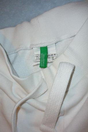 Zestaw United Colors of Benetton bluzka + spodnie dresowe 1-2 lat 90cm