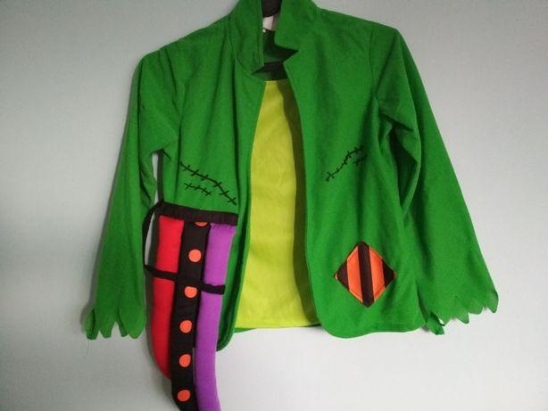 Stroj przebranie kostium Frankenstein 9-10lat 134-140cm