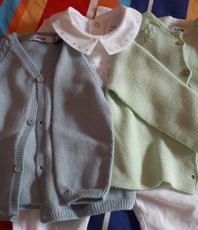 Roupa de bebé menina e menino