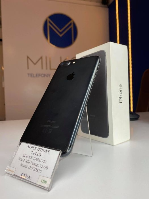 Telefon Apple iPhone 7 Plus 32 Gb 86% bateria Gwarancja Wysyłka Mińsk Mazowiecki - image 1