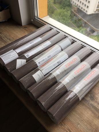 Обои флизелиновые коричневые Rasch 610390