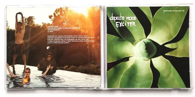 Depeche Mode - Exciter - IPKCDStumm 190 - 2x CD Promo - UK - 2001